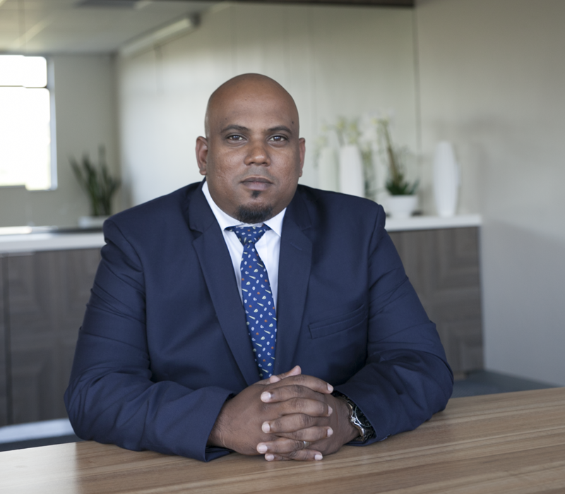 Kelvin Naidoo – Backup Team Leader – Operations