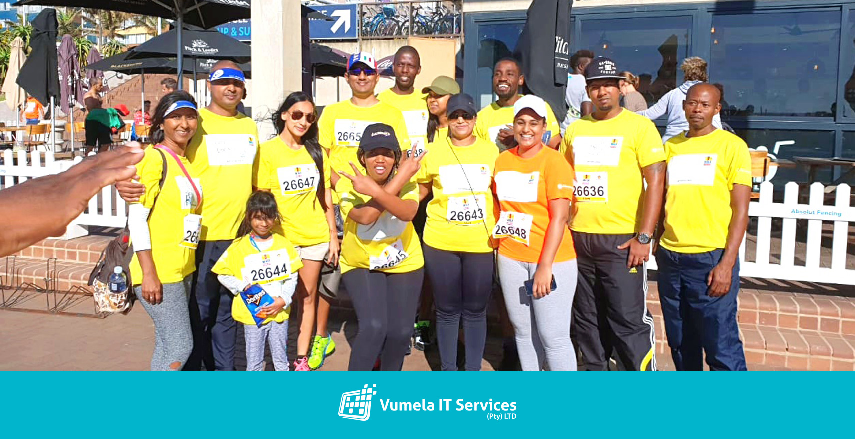 Vumela IT attended the ECR Big walk